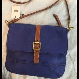Fossil Taylor top zip crossbody purse NWT